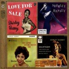 CDs de Música: SHIRLEY BASSEY - CD RECOPILATORIO DIGIPACK. Lote 161492382