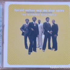 CDs de Música: HAROLD MELVIN AND THE BLUE NOTES - THE ULTIMATE BLUE NOTES (CD) 2001 - 15 TEMAS. Lote 161495182