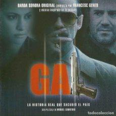 CDs de Música: GAL / FRANCESC GENER CD BSO. Lote 161510142