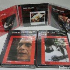 CDs de Música: GRAN LOTE PACO DE LUCIA PRECINTADO CD SIROCO + FUENTE Y CAUDAL + CON PEPE DE LUCIA + DVDS CONCIERTO. Lote 221876081
