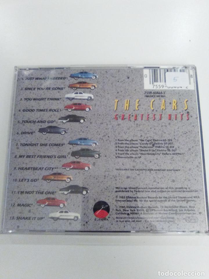 THE CARS Greatest hits ( 1985 ELEKTRA ) EXCELENTE ESTADO