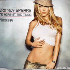 CDs de Música: BRITNEY SPEARS FEATURING MADONNA - ME AGAINST THE MUSIC - CD SINGLE - UK 2003 - JIVE ‎- 82876576432. Lote 161643882
