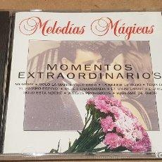 CDs de Música: MOMENTOS EXTRAORDINARIOS / COLECCIÓN MELODÍAS MÁGICAS / CD - PDI-1994 / 16 TEMAS / CALIDAD LUJO.. Lote 161675298