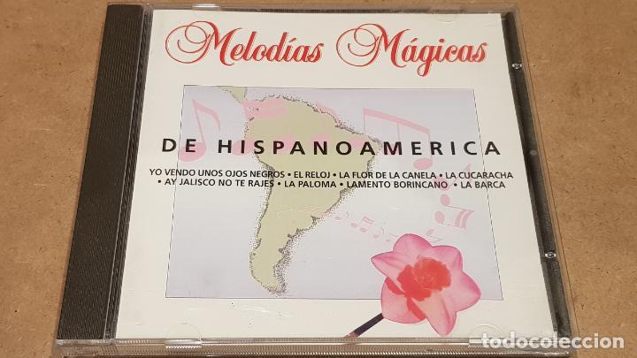 DE HISPANOAMÉRICA / COLECCIÓN MELODÍAS MÁGICAS / CD - PDI-1998 / 15 TEMAS / CALIDAD LUJO. (Música - CD's Melódica )