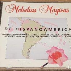CDs de Música: DE HISPANOAMÉRICA / COLECCIÓN MELODÍAS MÁGICAS / CD - PDI-1998 / 15 TEMAS / CALIDAD LUJO.. Lote 189936393
