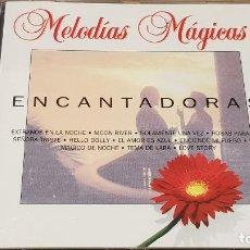 CDs de Música: ENCANTADORAS / COLECCIÓN MELODÍAS MÁGICAS / CD - PDI-1994 / 16 TEMAS / CALIDAD LUJO.. Lote 161675638
