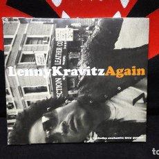 CDs de Música: LENNY KRAVITZ - CD SINGLE AGAIN EDICION ESPECIAL DIGIPACK CON POSTER DIFICIL. Lote 161710562