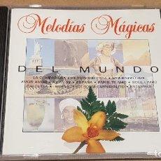 CDs de Música: DEL MUNDO / COLECCIÓN MELODÍAS MÁGICAS / CD - PDI-1994 / 20 TEMAS / CALIDAD LUJO.. Lote 161712830