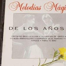 CDs de Música: DE LOS AÑOS 50 / COLECCIÓN MELODÍAS MÁGICAS / CD - PDI-1994 / 12 TEMAS / CALIDAD LUJO.. Lote 161713438