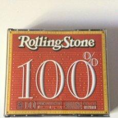 CDs de Música: 100% ROLLING STONE LAS 100 CANCIONES DE LA HISTORIA CD AUDIO COMPLETO PERFECTO. Lote 161719057