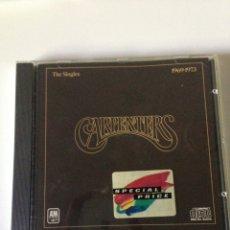 CDs de Música: THE CARPENTERS/THE SINGLES. Lote 161721025