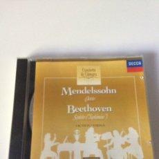 CDs de Música: MENDELSSOHN BEETHOVEN - OCTETO VIENA. Lote 161721610