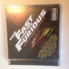 CDs de Música: THE FAST & FURIOUS. Lote 161724169