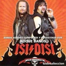 CDs de Música: ISI - DISI: AMOR A LO BESTIA + CHICA DE RIO / ROQUE BAÑOS CD BSO. Lote 161728286