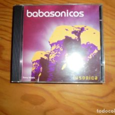 CDs de Música: BABASONICOS. LUSONICA. SONY, 2001. EDT. ARGENTINA. CD. IMPECABLE (#). Lote 161746218