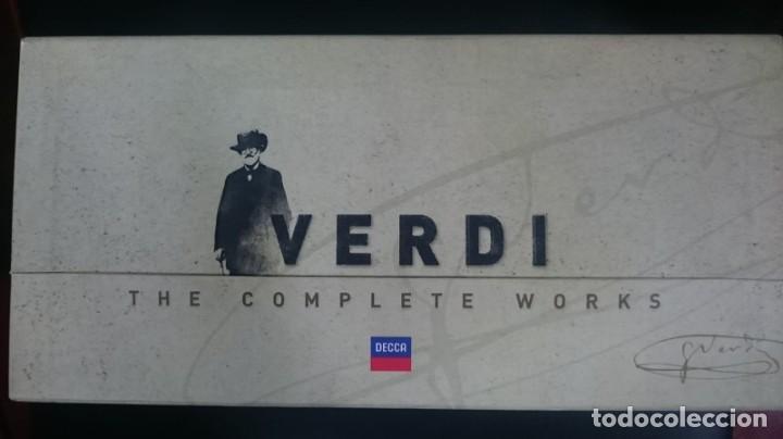VERDI - OPERA OMNIA - BOX 75 CD (Música - CD's Clásica, Ópera, Zarzuela y Marchas)