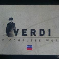 CDs de Música: VERDI - OPERA OMNIA - BOX 75 CD. Lote 161771226