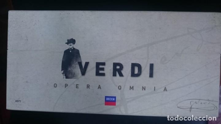 CDs de Música: VERDI - OPERA OMNIA - BOX 75 CD - Foto 3 - 161771226