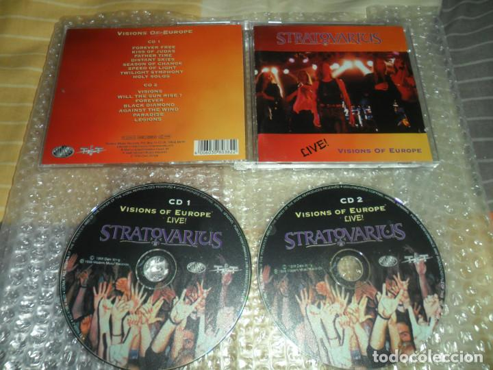 Stratovarius - Visions of Europe live ( 2 CD )