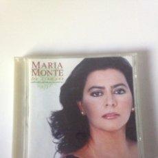 CDs de Música: MARÍA MONTE - DE SIEMPRE. Lote 161773305