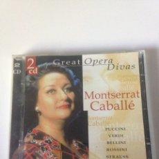 CDs de Música: MONTSERRAT CABALLE - GREAT OPERA. Lote 161776313