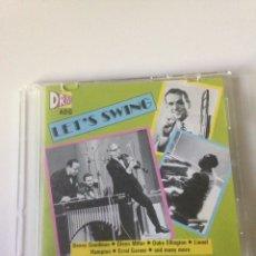CDs de Música: LET'S SWING. Lote 161776422