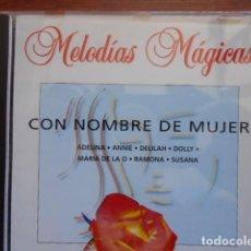 CDs de Música: CD CON NOMBRE DE MUJER-MELODÍAS MÁGICAS. Lote 161785326