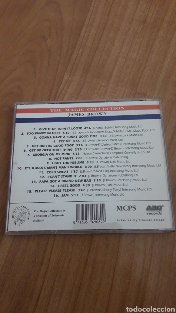 CDs de Música: James Brown. The magic collection - Foto 2 - 161812185