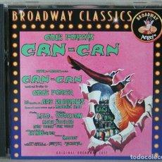 CDs de Música: COLE PORTER - CAN CAN - CD BSO BROADWAY CLASSICS . Lote 161816698
