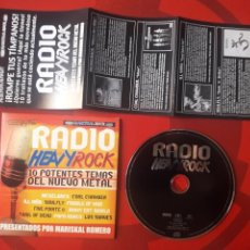 CDs de Música: RADIO HEAVY ROCK CD - NICKLEBACK LOS SUAVES COAL CHAMBER ILL NIÑO SOULFLY ETC. Lote 161871340