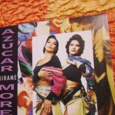 CDs de Música: AZUCAR MORENO- MAXI-CD- TITULO MIRAME- A DUO CON LUIS ENRIQUE- 1 TEMA- EXTRAIDO DE OJOS NEGROS- . Lote 161887442