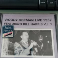 Music CDs - Woody Herman Live 1957 - Featuring Bill Harris Vol 1 - 161893470