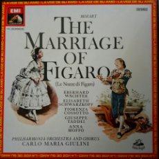 CDs de Música: MOZART. LES NOZZE DI FIGARO. GIULINI. EMI. (3LPS). Lote 161916940