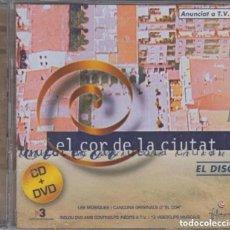 CDs de Música: EL COR DE LA CIUTAT / ALBERT GUINOVART CD + DVD BSO. Lote 161924010