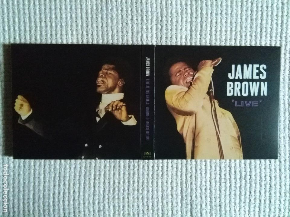 CDs de Música: JAMES BROWN - LIVE AT THE APOLLO VOLUME 2 2 CD + BOOKLET DELUXE USA 2001 - Foto 3 - 161953126