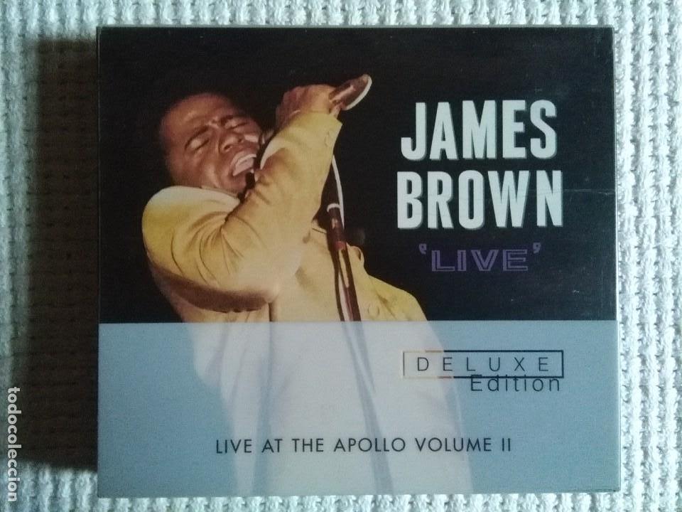 JAMES BROWN - '' LIVE AT THE APOLLO VOLUME 2 '' 2 CD + BOOKLET DELUXE USA 2001 (Música - CD's Jazz, Blues, Soul y Gospel)