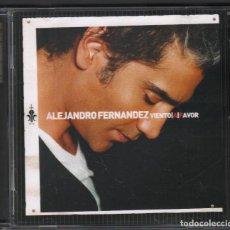 CDs de Música: ALEJANDRO FERNÁNDEZ - VIENTO A FAVOR / CD ALBUM DE 2007 RF-1663 , PERFECTO ESTADO. Lote 161973878