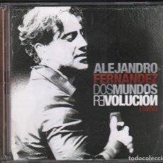 CDs de Música: ALEJANDRO FERNANDEZ - DOS MUNDOS REVOLUCION , EN VIVO (CD+DVD) 2010 RF-1665 , PERFECTO ESTADO. Lote 161974074