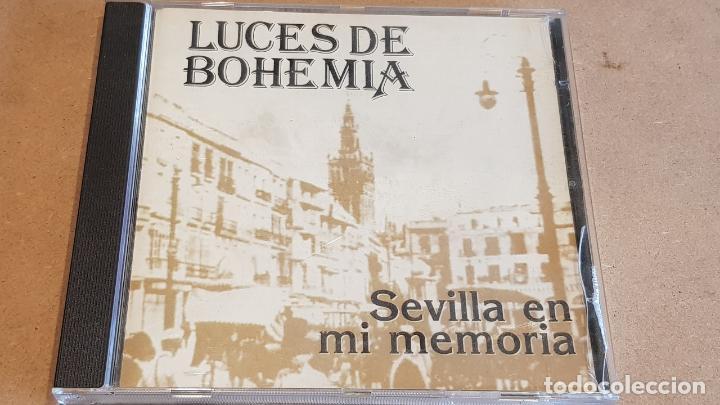 LUCES DE BOHEMIA / SEVILLA EN MI MEMORIA / CD - JAZMIN-1995 / NUEVO-DESPRECINTADO. (Música - CD's Flamenco, Canción española y Cuplé)