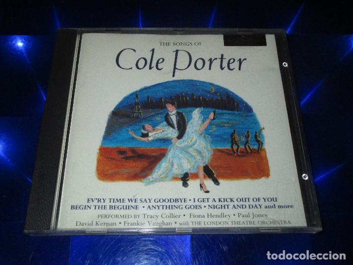CDs de Música: THE SONGS OF COLE PORTER - CD - MCCD 175 - MUSIC CLUB - I LOVE PARIS - TRUE LOVE - NIGHT AND DAY ... - Foto 2 - 162016638