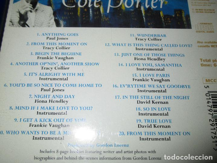 CDs de Música: THE SONGS OF COLE PORTER - CD - MCCD 175 - MUSIC CLUB - I LOVE PARIS - TRUE LOVE - NIGHT AND DAY ... - Foto 4 - 162016638