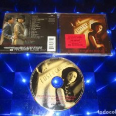 CDs de Música: LUST CAUTION ( ORIGINAL MOTION PICTURE SOUNDTRACK ) - CD- 174 6371 - DECCA - COMPOSER OF THE QUEEN. Lote 162017530