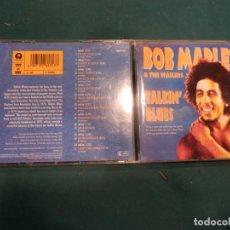 CDs de Música: BOB MARLEY & THE WAILERS - TALKIN' BLUES - CD 21 TEMAS - ISLAND/TUFF GONG 1991. Lote 162024290