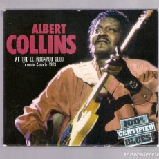 CDs de Música: ALBERT COLLINS - AT THE EL MOCAMBO CLUB (CD 2007, WETON-WESGRAM CB003, 100% CERTIFIED BLUES). Lote 162099722
