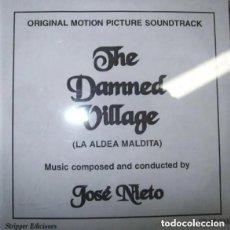 CDs de Música: LA ALDEA MALDITA (THE DAMNED VILLAGE) / JOSÉ NIETO CD BSO. Lote 162122722