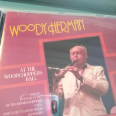 CDs de Música: WOODY HERMAN - AT THE WOODCHOPPERS BALL. Lote 162132910