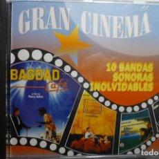 CDs de Música: CD GRAN CINEMA 10 BANDAS SONORAS INOLVIDABLES. Lote 162149486