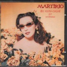CDs de Música: MARTIRIO - HE VISTO COLOR POR SEVILLANAS - CD DE 1994 RF-1711 , PERFECTO ESTADO. Lote 162174578