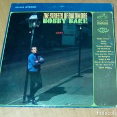CDs de Música: BOBBY BARE - THE STREETS OF BALTIMORE (LP 1966, RCA VICTOR LSP 3618). Lote 162309650
