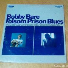 CDs de Música: BOBBY BARE - FOLSOM PRISON BLUES (LP 1968, RCA CAMDEM CAS-2290). Lote 162309886